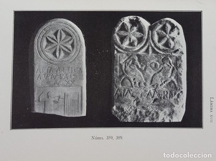 Libros antiguos: CATÁLOGO DEL MUSEO ARQUEOLÓGICO PROVINCIAL DE BURGOS. M.M.B. MADRID. 1935. - Foto 23 - 122351803