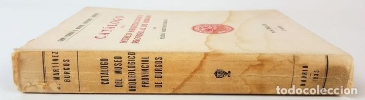 Libros antiguos: CATÁLOGO DEL MUSEO ARQUEOLÓGICO PROVINCIAL DE BURGOS. M.M.B. MADRID. 1935. - Foto 27 - 122351803