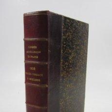 Libros antiguos: CONGRÈS ARCHÉOLOGIQUE DE FRANCE, LXXIII SESSION, 1906, CARCASSONNE ET PERPIGNAN. 15,5X23CM. Lote 122657311