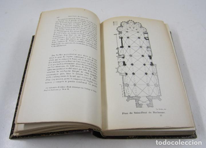 Libros antiguos: Congrès archéologique de France, LXXIII session, 1906, Carcassonne et Perpignan. 15,5x23cm - Foto 4 - 122657311