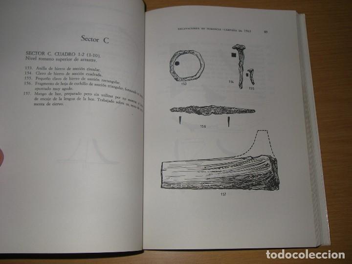 Libros antiguos: Excavaciones en Numancia, campaña 1963, de Federico Wattenberg, Edit, Museo arqueolog, de Valladolid - Foto 5 - 124227639