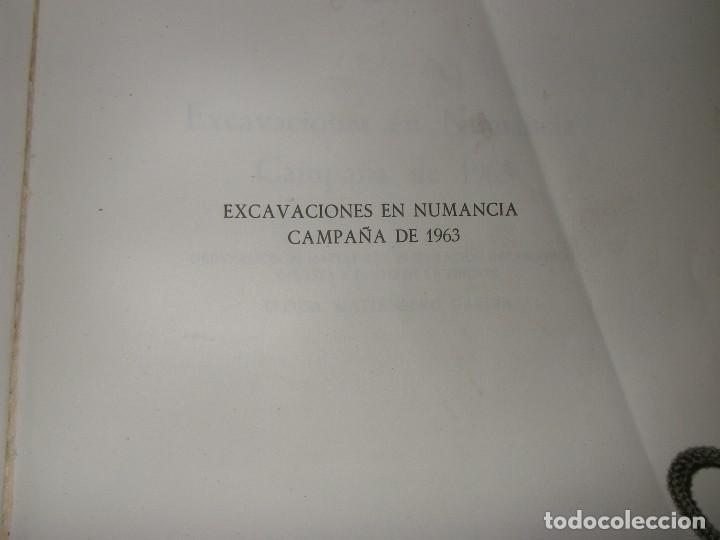 Libros antiguos: Excavaciones en Numancia, campaña 1963, de Federico Wattenberg, Edit, Museo arqueolog, de Valladolid - Foto 7 - 124227639