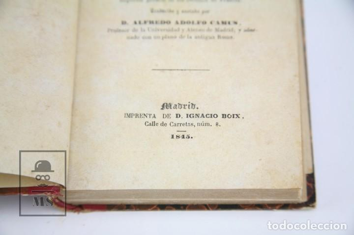 Libros antiguos: Libro- Manual De Antigüedades Romanas / M.G. Ozaneaux, Alfredo Adolfo Camus - Ed Ignacio Boix, 1845 - Foto 6 - 124606303