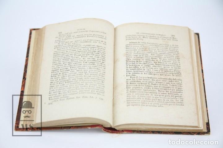 Libros antiguos: Libro- Manual De Antigüedades Romanas / M.G. Ozaneaux, Alfredo Adolfo Camus - Ed Ignacio Boix, 1845 - Foto 7 - 124606303