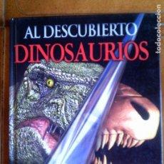 Libros antiguos: LIBRO DINOSAURIOS AL DESCUBIERTO POR DOUGAL DIXON AÑO 2003 PEARSON. Lote 125222487
