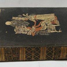 Libros antiguos: TUT-ENCM-AMUN (TUTANKAMON). HOWARD CARTER & A.C. MACE. CON FOTOGRAFÍAS.. Lote 125853127