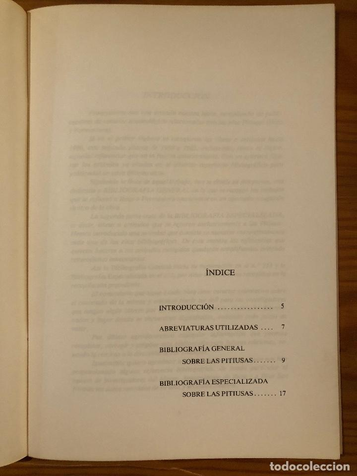Libros antiguos: ARQUELOGIA BALEAR--Bibliografía Arqueológica de las islas pitiusas II(31€) - Foto 3 - 127558411