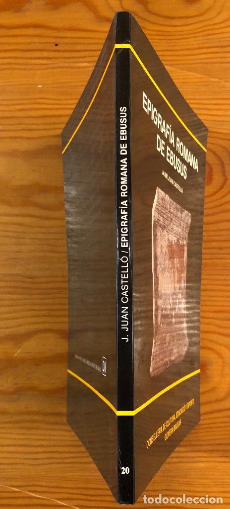 Libros antiguos: ARQUELOGIA BALEAR--Epigrafía Romana de Ebusus(31€) - Foto 2 - 127558527