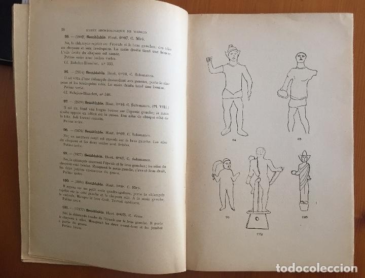 Libros antiguos: ARQUEOLOGIA- CATALOGUE DES FIGURINES ET OBJETS DE BRONZE- MUSEO ARQUEOLOGICO MADRID- 1.927 - Foto 3 - 129637855