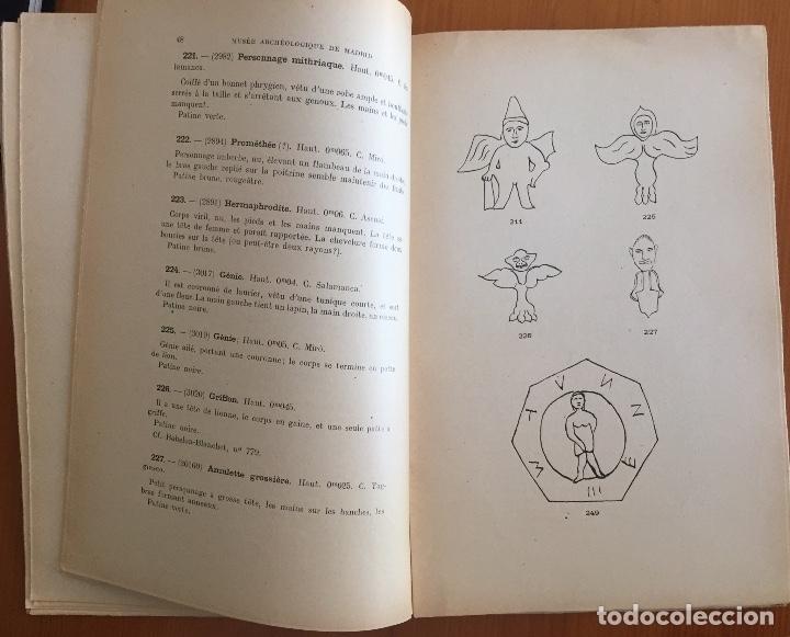 Libros antiguos: ARQUEOLOGIA- CATALOGUE DES FIGURINES ET OBJETS DE BRONZE- MUSEO ARQUEOLOGICO MADRID- 1.927 - Foto 4 - 129637855