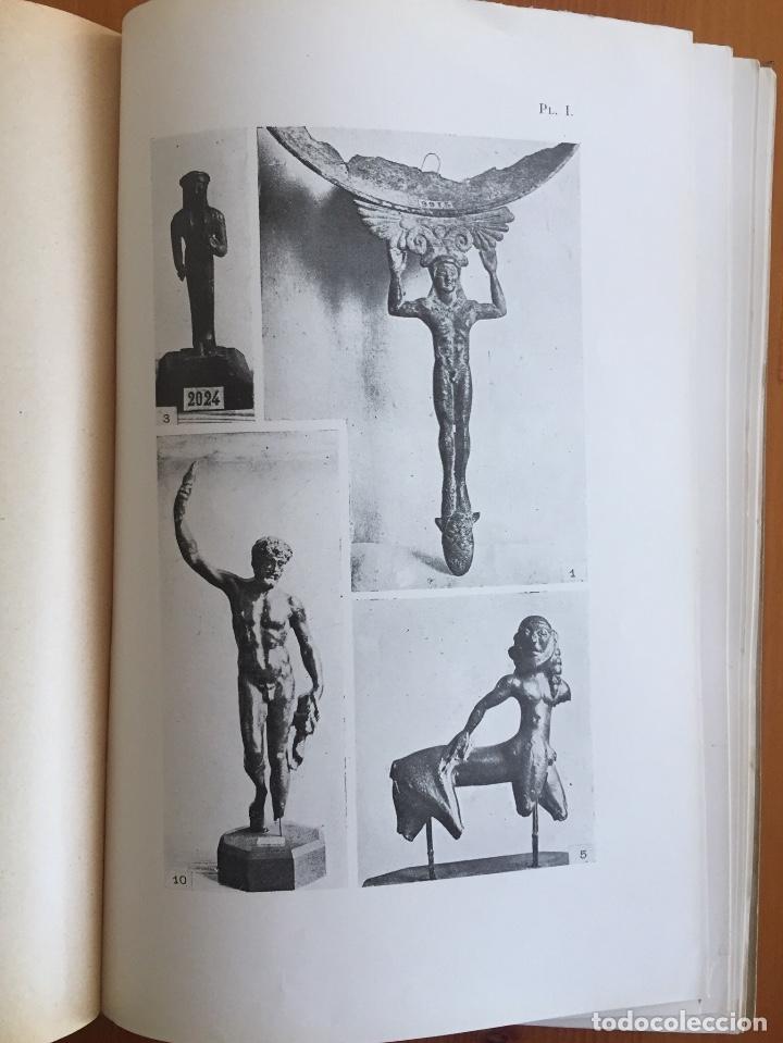 Libros antiguos: ARQUEOLOGIA- CATALOGUE DES FIGURINES ET OBJETS DE BRONZE- MUSEO ARQUEOLOGICO MADRID- 1.927 - Foto 7 - 129637855