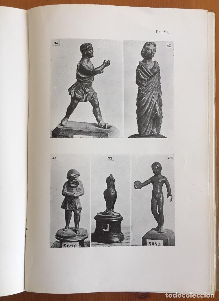 Libros antiguos: ARQUEOLOGIA- CATALOGUE DES FIGURINES ET OBJETS DE BRONZE- MUSEO ARQUEOLOGICO MADRID- 1.927 - Foto 8 - 129637855