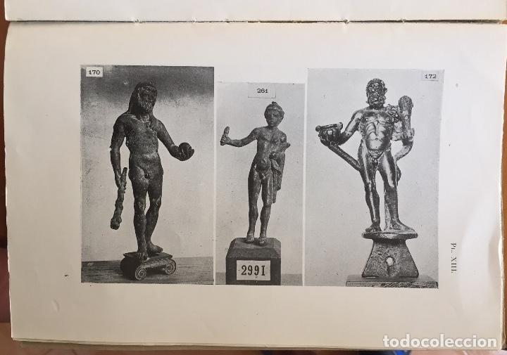 Libros antiguos: ARQUEOLOGIA- CATALOGUE DES FIGURINES ET OBJETS DE BRONZE- MUSEO ARQUEOLOGICO MADRID- 1.927 - Foto 9 - 129637855