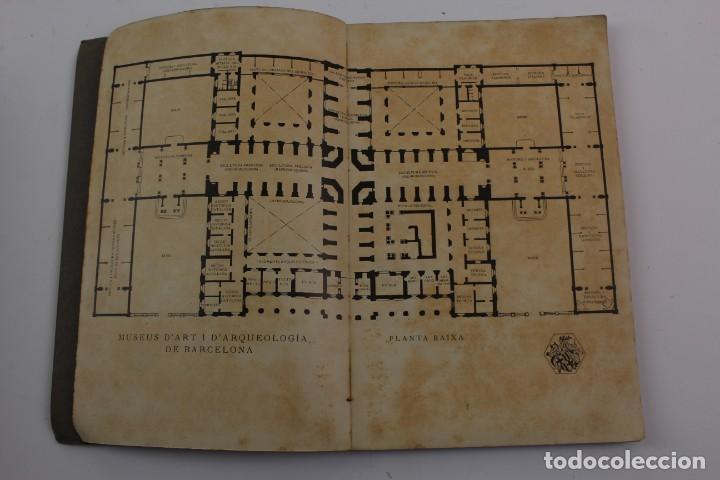 Libros antiguos: L-1674.MUSEUS D' ART I D' ARQUEOLOGIA DE BARCELONA, GUIA SUMARIA. ANY 1915. IMPRESSOR OLIVA-VILANOVA - Foto 2 - 131917802