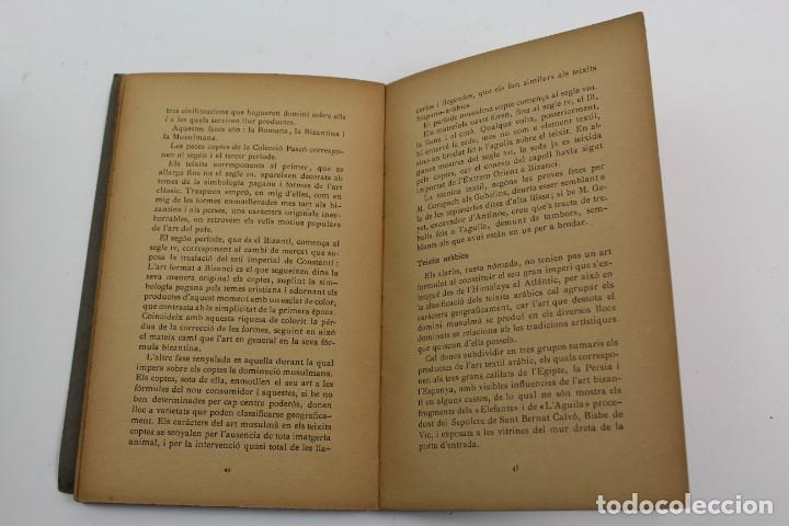 Libros antiguos: L-1674.MUSEUS D' ART I D' ARQUEOLOGIA DE BARCELONA, GUIA SUMARIA. ANY 1915. IMPRESSOR OLIVA-VILANOVA - Foto 7 - 131917802