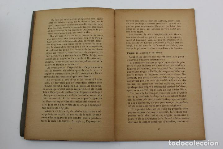 Libros antiguos: L-1674.MUSEUS D' ART I D' ARQUEOLOGIA DE BARCELONA, GUIA SUMARIA. ANY 1915. IMPRESSOR OLIVA-VILANOVA - Foto 8 - 131917802