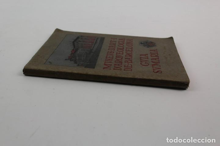 Libros antiguos: L-1674.MUSEUS D' ART I D' ARQUEOLOGIA DE BARCELONA, GUIA SUMARIA. ANY 1915. IMPRESSOR OLIVA-VILANOVA - Foto 11 - 131917802