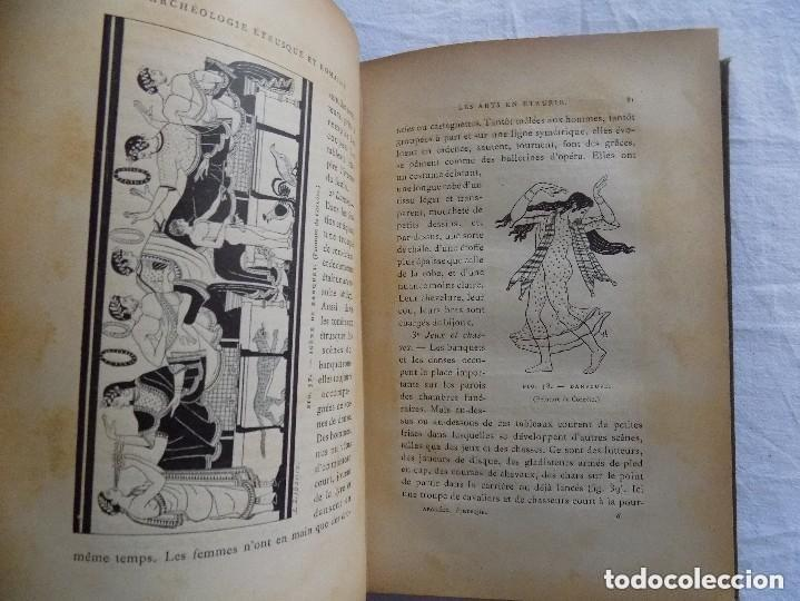 Libros antiguos: LIBRERIA GHOTICA. JULES MARTHA. LARCHEOLOGIE. ETRUSQUE ET ROMAINE. 1870. MULTITUD DE GRABADOS. - Foto 4 - 133016298