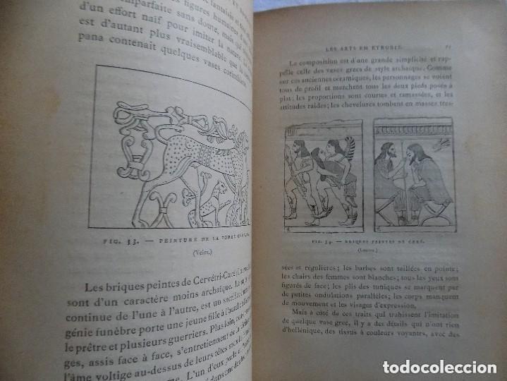 Libros antiguos: LIBRERIA GHOTICA. JULES MARTHA. LARCHEOLOGIE. ETRUSQUE ET ROMAINE. 1870. MULTITUD DE GRABADOS. - Foto 5 - 133016298