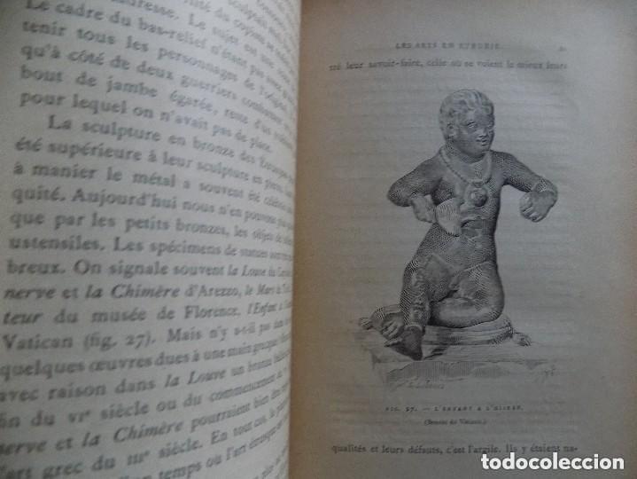 Libros antiguos: LIBRERIA GHOTICA. JULES MARTHA. LARCHEOLOGIE. ETRUSQUE ET ROMAINE. 1870. MULTITUD DE GRABADOS. - Foto 7 - 133016298