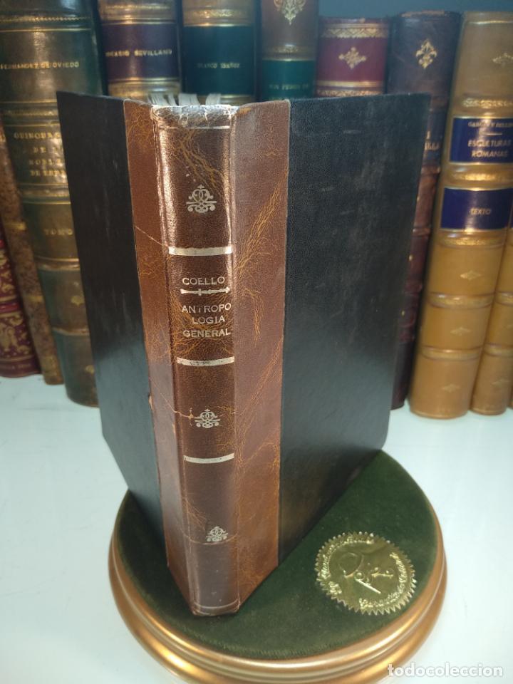 CURSO DE ANTROPOLOGÍA JURÍDICA - NOCIONES DE ANTROPOLOGÍA GENERAL - JULIO MORALES COELLO - 1946 (Libros Antiguos, Raros y Curiosos - Ciencias, Manuales y Oficios - Arqueología)