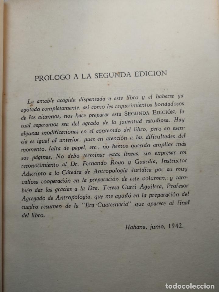 Libros antiguos: CURSO DE ANTROPOLOGÍA JURÍDICA - NOCIONES DE ANTROPOLOGÍA GENERAL - JULIO MORALES COELLO - 1946 - Foto 7 - 137894322