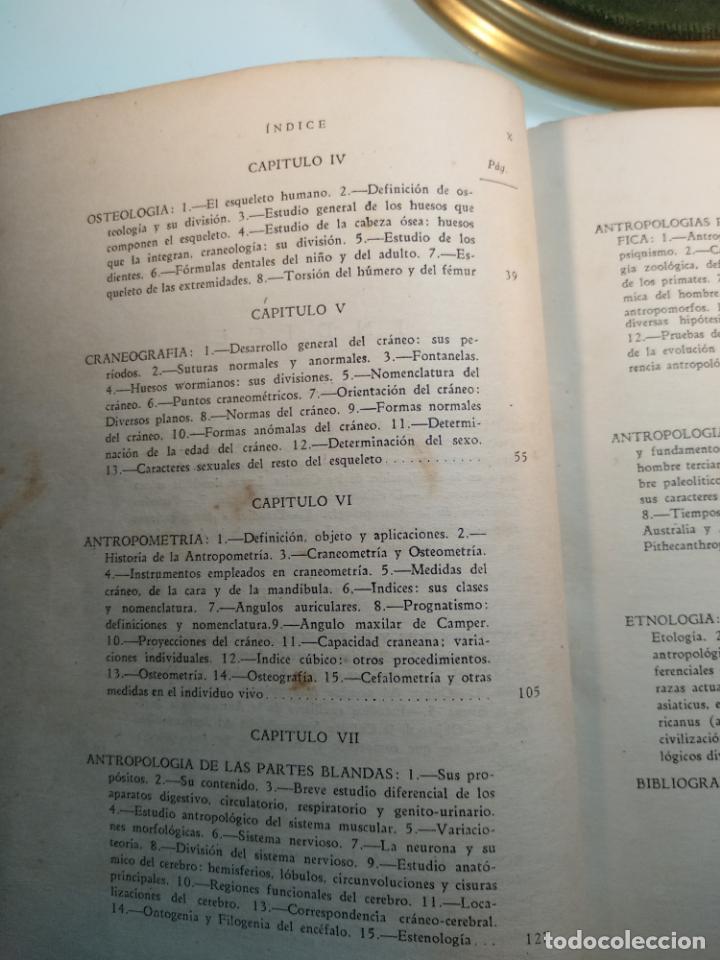 Libros antiguos: CURSO DE ANTROPOLOGÍA JURÍDICA - NOCIONES DE ANTROPOLOGÍA GENERAL - JULIO MORALES COELLO - 1946 - Foto 9 - 137894322