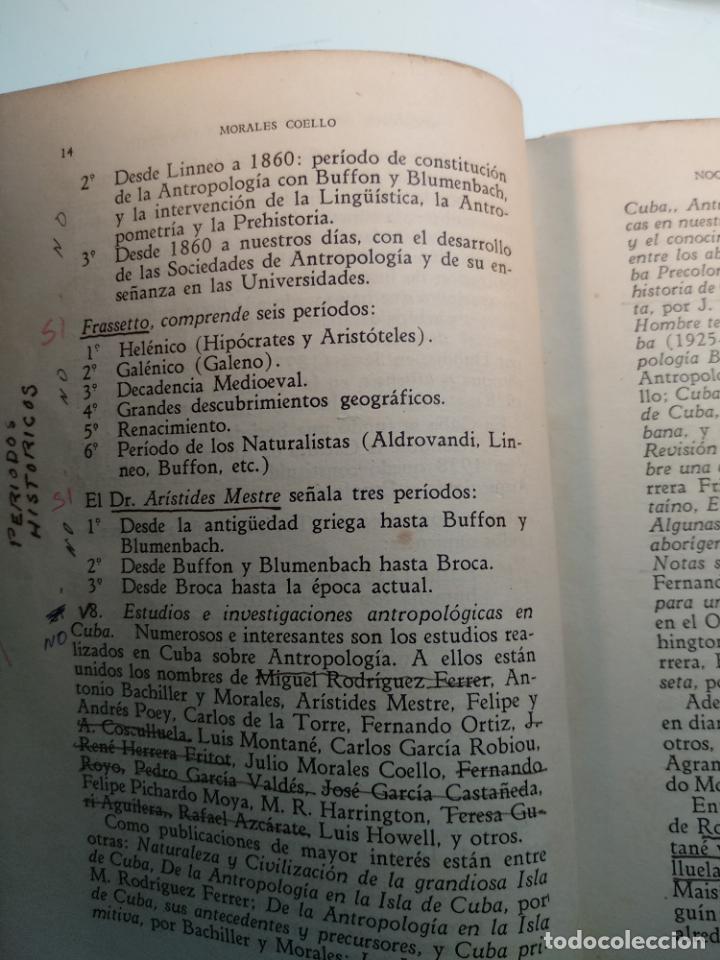 Libros antiguos: CURSO DE ANTROPOLOGÍA JURÍDICA - NOCIONES DE ANTROPOLOGÍA GENERAL - JULIO MORALES COELLO - 1946 - Foto 13 - 137894322