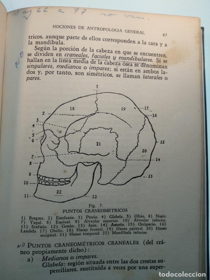 Libros antiguos: CURSO DE ANTROPOLOGÍA JURÍDICA - NOCIONES DE ANTROPOLOGÍA GENERAL - JULIO MORALES COELLO - 1946 - Foto 16 - 137894322
