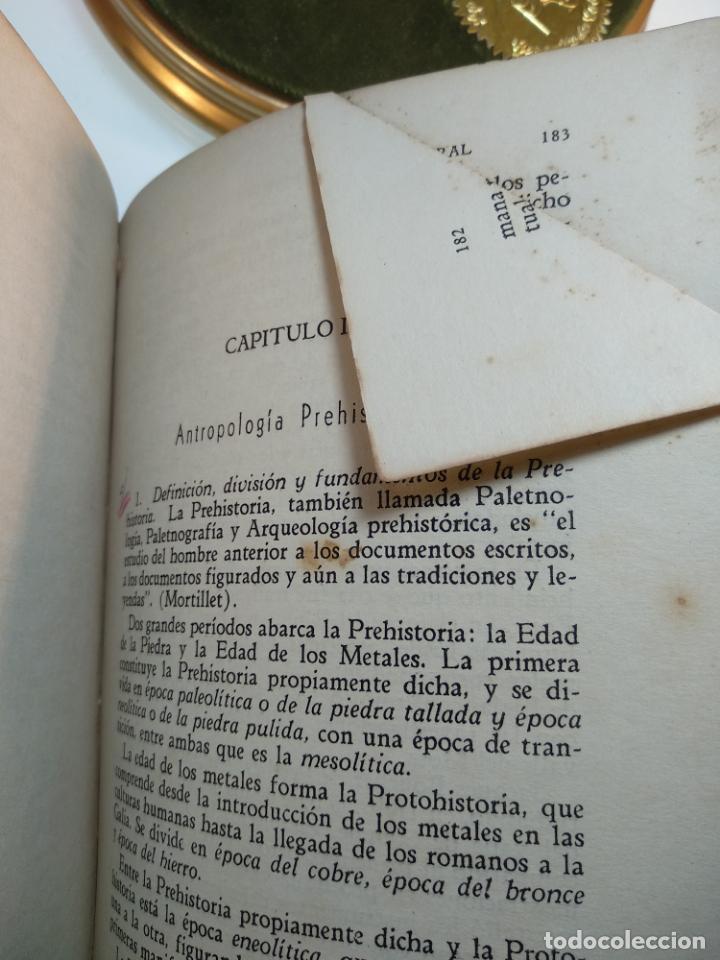 Libros antiguos: CURSO DE ANTROPOLOGÍA JURÍDICA - NOCIONES DE ANTROPOLOGÍA GENERAL - JULIO MORALES COELLO - 1946 - Foto 20 - 137894322