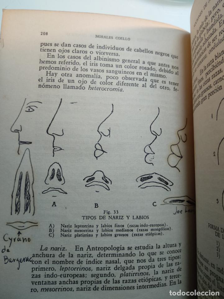 Libros antiguos: CURSO DE ANTROPOLOGÍA JURÍDICA - NOCIONES DE ANTROPOLOGÍA GENERAL - JULIO MORALES COELLO - 1946 - Foto 21 - 137894322