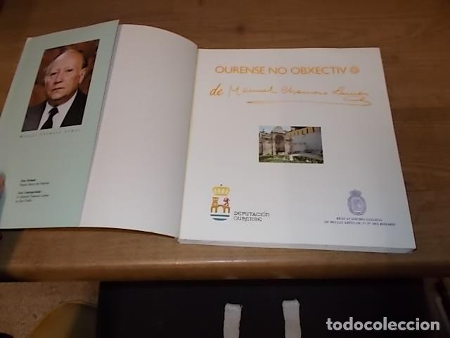 Libros antiguos: AS NOSAS RAICES. OURENSE NO OBXECTIV DE MANUEL CHAMOSO LAMAS . DIPUTACIÓN OURENSE . 1997. UNA JOYA - Foto 3 - 140476702