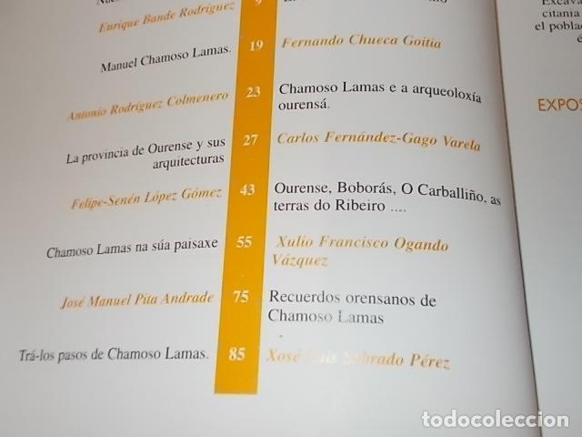 Libros antiguos: AS NOSAS RAICES. OURENSE NO OBXECTIV DE MANUEL CHAMOSO LAMAS . DIPUTACIÓN OURENSE . 1997. UNA JOYA - Foto 6 - 140476702