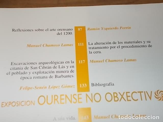 Libros antiguos: AS NOSAS RAICES. OURENSE NO OBXECTIV DE MANUEL CHAMOSO LAMAS . DIPUTACIÓN OURENSE . 1997. UNA JOYA - Foto 7 - 140476702