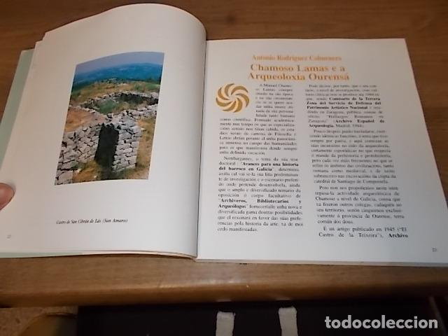 Libros antiguos: AS NOSAS RAICES. OURENSE NO OBXECTIV DE MANUEL CHAMOSO LAMAS . DIPUTACIÓN OURENSE . 1997. UNA JOYA - Foto 9 - 140476702