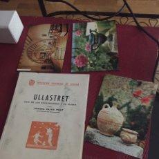 Libros antiguos: LIBRO ULLASTRET. Lote 143211190