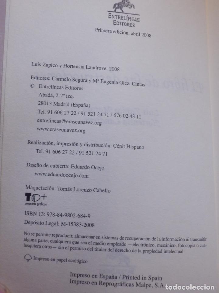 Libros antiguos: Libro - El libro de las destrucciones - Luis Zapico - Hortensia Landrove Entrelineas Editores - 2008 - Foto 3 - 145124718