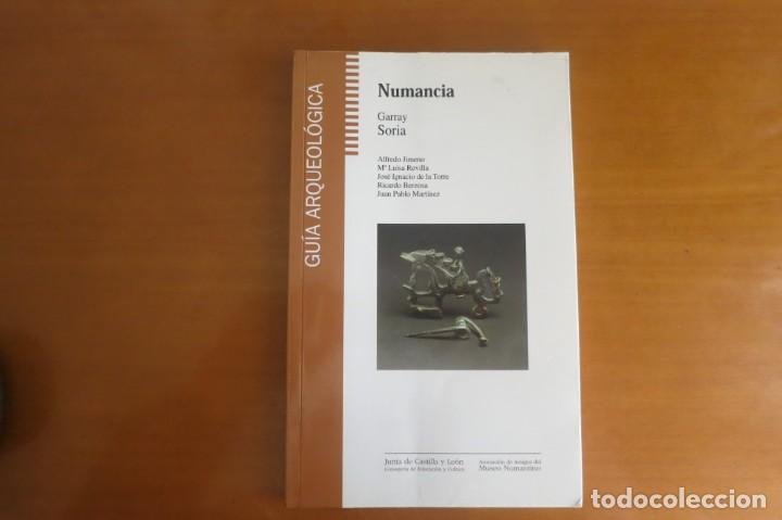 NUMANCIA GUIA ARQUEOLOGICA (Libros Antiguos, Raros y Curiosos - Ciencias, Manuales y Oficios - Arqueología)