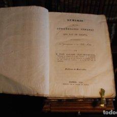 Libros antiguos: SUMARIO DE LAS ANTIGÜEDADES ROMANAS QUE HAY EN ESPAÑA - D. AGUSTÍN CEAN-BERMUDEZ - MADRID - 1832 -. Lote 152836046