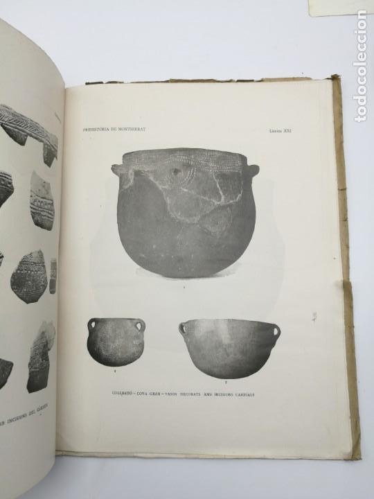 Libros antiguos: Prehistòria de Montserrat 1925 - Foto 3 - 154553066