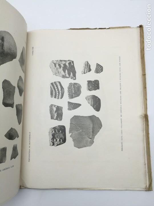 Libros antiguos: Prehistòria de Montserrat 1925 - Foto 4 - 154553066