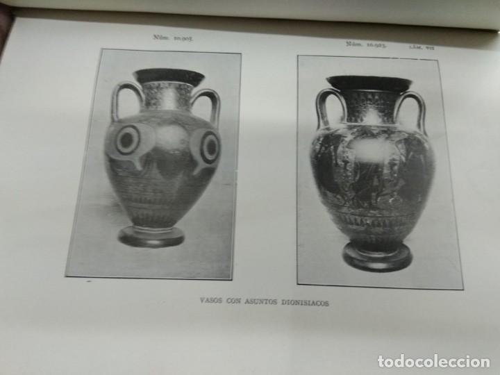 Libros antiguos: VASOS GRIEGOS ETRUSCOS E ITALO GRIEGOS MUSEO ARQUEOLÓGICO NACIONAL 1910 F. ALVAREZ OSSORIO ILUSTRADO - Foto 5 - 155648694