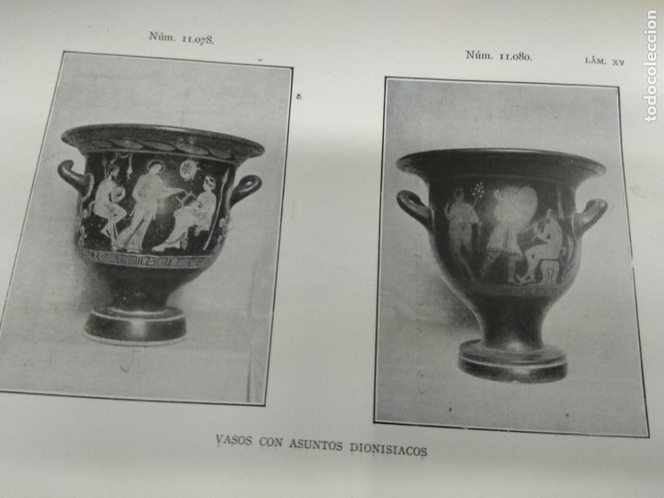 Libros antiguos: VASOS GRIEGOS ETRUSCOS E ITALO GRIEGOS MUSEO ARQUEOLÓGICO NACIONAL 1910 F. ALVAREZ OSSORIO ILUSTRADO - Foto 6 - 155648694