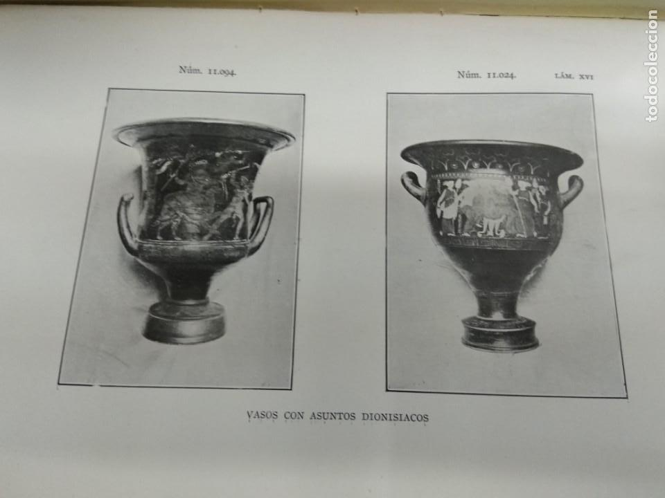 Libros antiguos: VASOS GRIEGOS ETRUSCOS E ITALO GRIEGOS MUSEO ARQUEOLÓGICO NACIONAL 1910 F. ALVAREZ OSSORIO ILUSTRADO - Foto 7 - 155648694