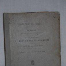 Libros antiguos: NECRÓPOLIS DE CARMONA PERTENECIENTE A LA BIBLIOTECA DE JUAN MARÍA AGUILAR. Lote 156903126
