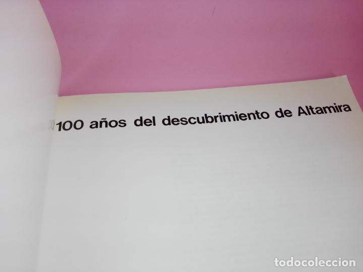 Libros antiguos: CATÁLOGO-100 AÑOS DEL DESCUBRIMIENTO DE ALTAMIRA-1979-VER FOTOS - Foto 6 - 157537130