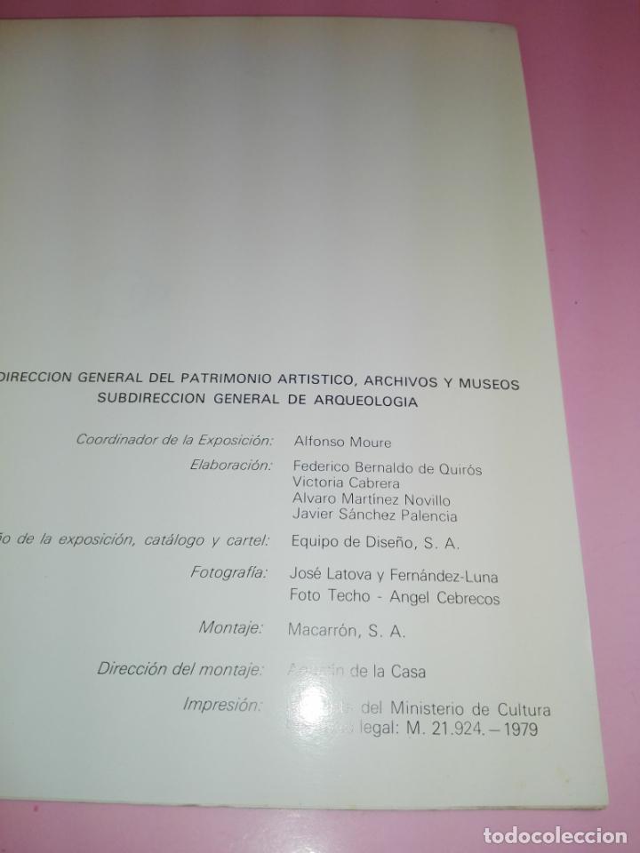 Libros antiguos: CATÁLOGO-100 AÑOS DEL DESCUBRIMIENTO DE ALTAMIRA-1979-VER FOTOS - Foto 14 - 157537130
