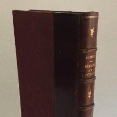 Libros antiguos: MÉMOIRES SUR L'ANTIQUITÉ. L'AGE DE BRONZE, TROIE, SANTORIN, DÉLOS, MYCÈNES... - BURNOUF, ÉMILE.. Lote 160384086