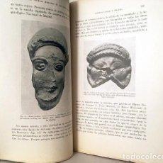 Libros antiguos: FIGURAS DE BRONCE Y BARRO DE BALEARES (GARCÍA BELLIDO); CÓDICE COMPLUTENSE; ETC (ANALES VER INDICE) . Lote 164004454