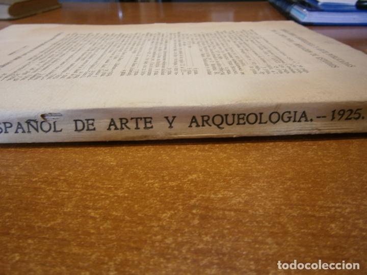 Libros antiguos: ARCHIVO ESPAÑOL DE ARTE Y ARQUEOLOGIA. Nº 3 AÑO 1925 - Foto 4 - 165298678